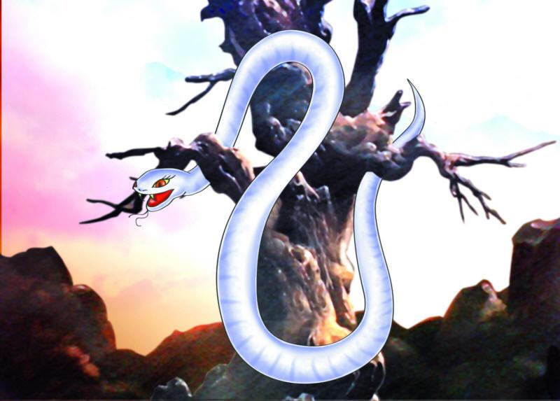 Resultado de imagen para La guarida de la serpiente blanca hakujaden