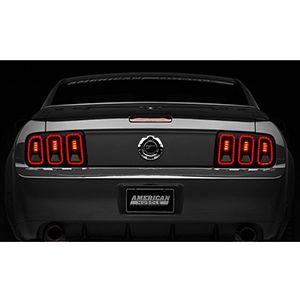 Calaveras Led Estilo 2013 Para Ford Mustang 2005-2009