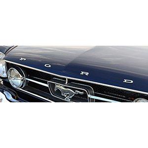 Emblema Para Cofre Letras Ford Para Mustang