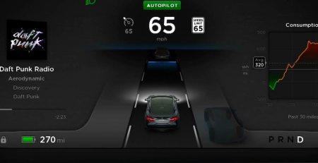 Tesla S piloto automatico