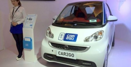 Car2go encuentra una gran oportunidad en China