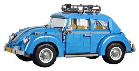 Este LEGO de VW Beetle está bastante bien ordenado