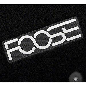 Tapetes Foose Negros Para Ford Mustang 2015-2017