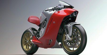 MV Agusta F4Z polarizada como ninguna otra motocicleta