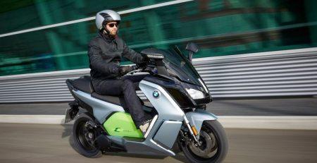C Evolution electric scooter usará batería de BMW i3