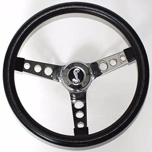 "Volante Negro De 13.5"" Para Ford Mustang y Torino 1970-1978"