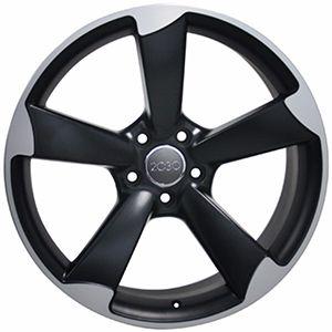 Rines Negro Satin 19×8.5 Para Audi A3 A4 A5 1997-2018