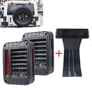 Calaveras LED y Luz De Freno Para Jeep Wrangler JK 2007-2017