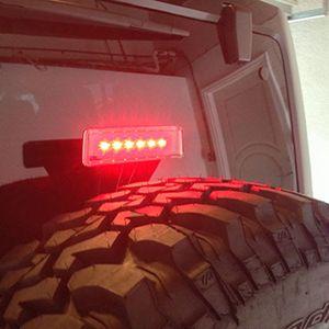 Tercera Luz De Freno Led Para Jeep Wrangler JK 2007-2017