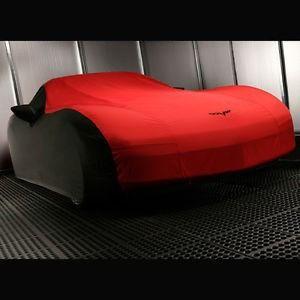 Cubierta Rojo Con Negro Para Chevrolet Corvette C6 2005-2013