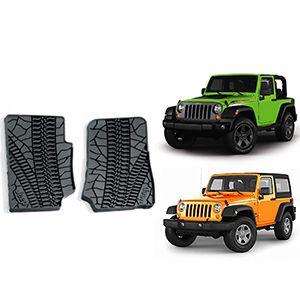 Tapetes Mopar Para Jeep Wrangler 2 Puertas 2007-2013