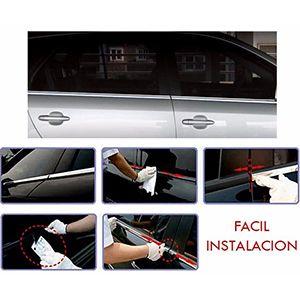 Molduras Cromadas De Ventana Chevrolet Spark 2010-2014