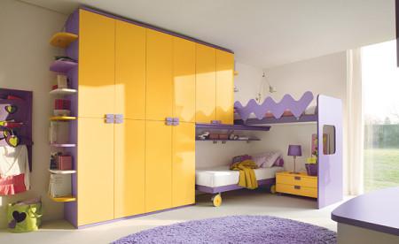غرف نوم الأطفال