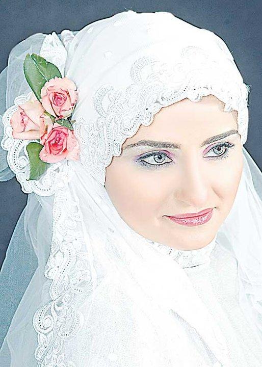 صور لفات طرح زفاف ميكساتك