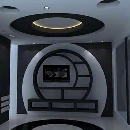 Asma tavanların en son şekilleri ve tasarımları (3)