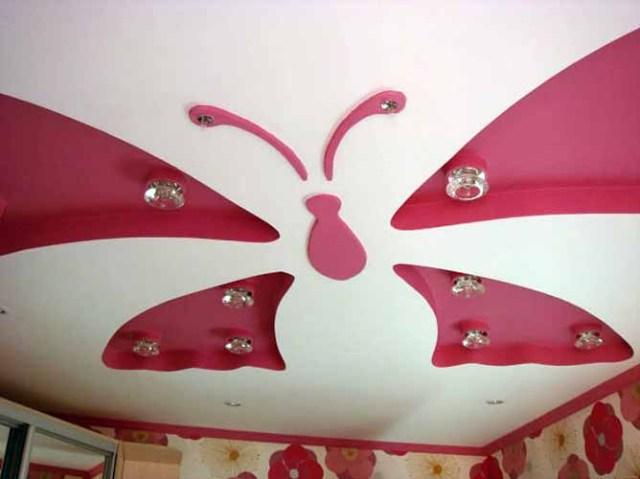 Tavan, oda ve hollerin alçı şekillerinin resimleri (5)