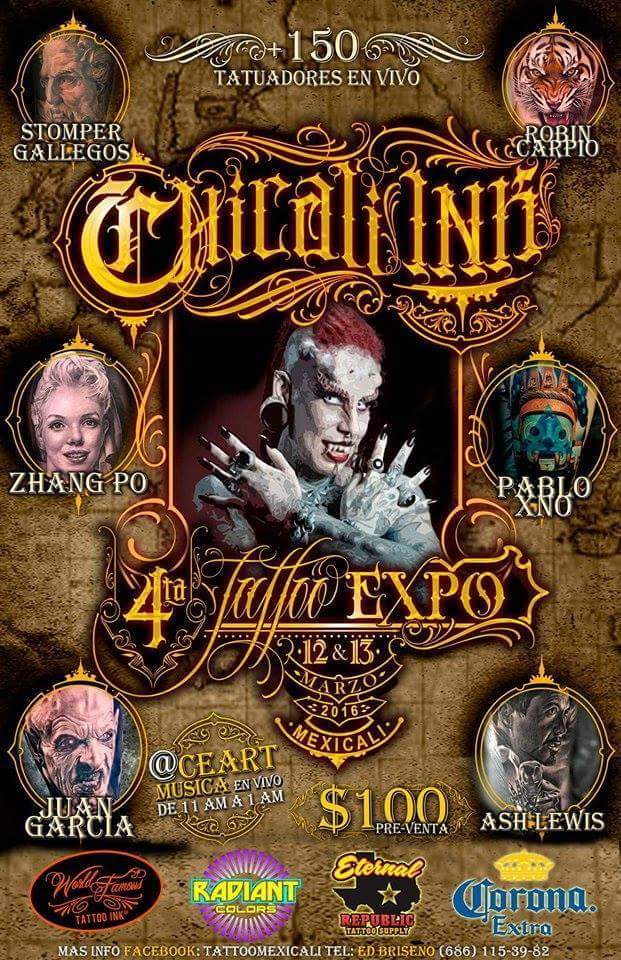 expo tattoo 2016 mexicali