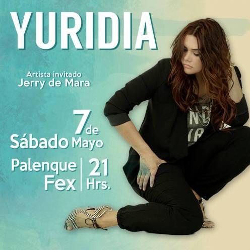 Yuridia en Mexicali 2016