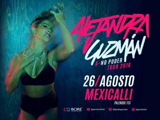 Alejandra Guzman en Mexicali