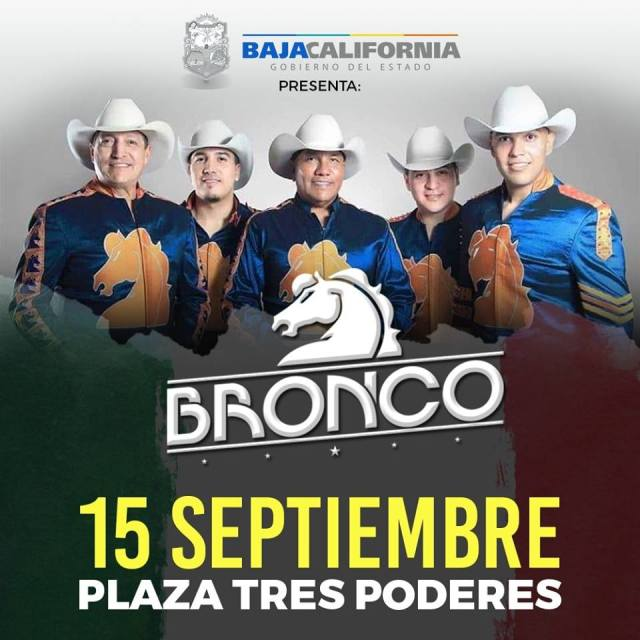 bronco mexicali 2018