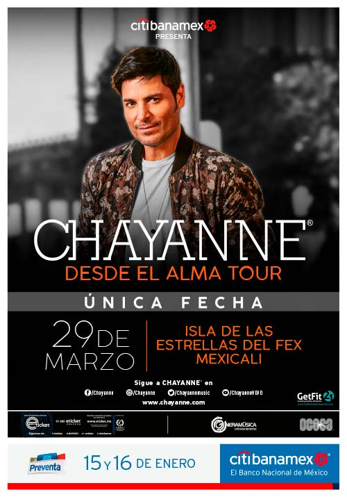chayanne mexicali 2019