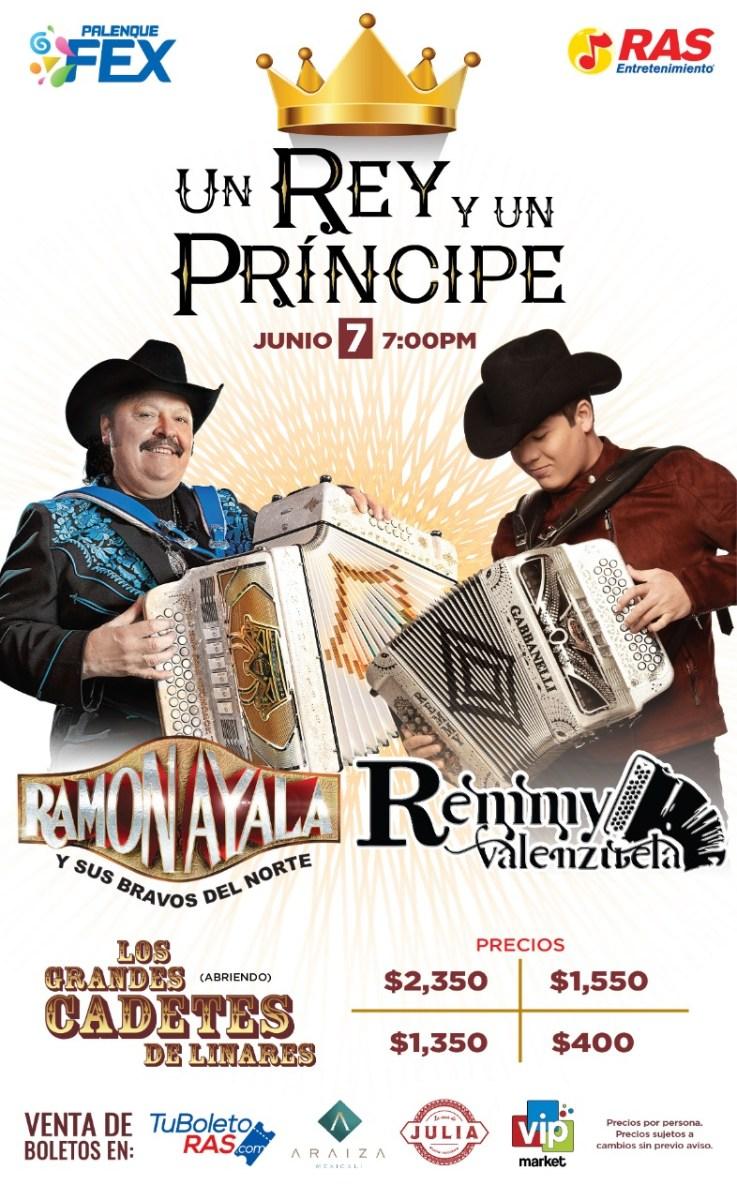 Ramón Ayala y Remmy Valenzuela en Mexicali 2019