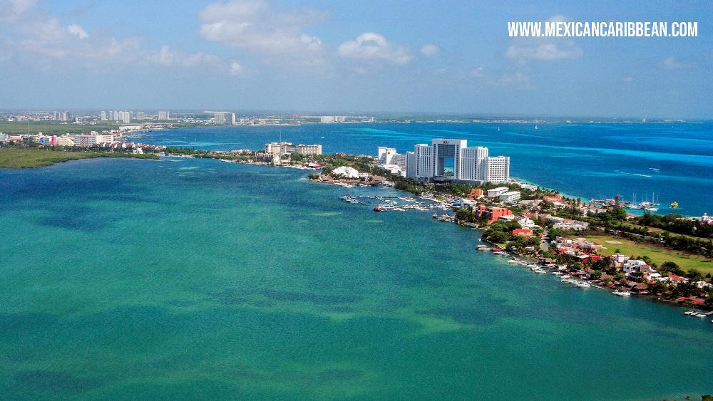 Nichupte Lagoon Cancun Mexican Caribbean
