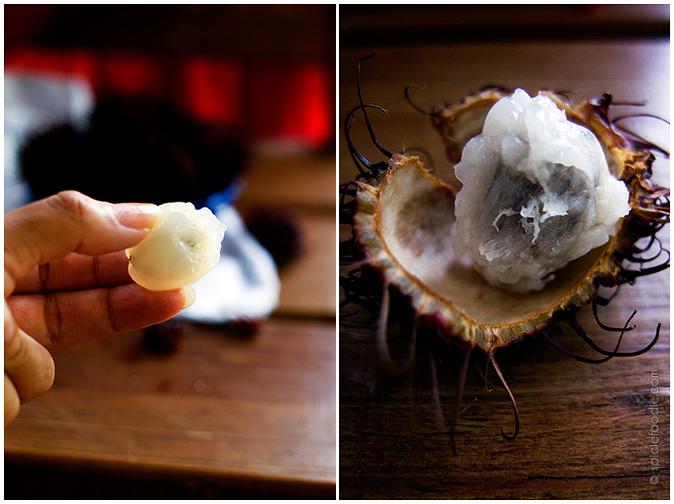 Rambutan  | #mexico #fruit #tropical #rambutan
