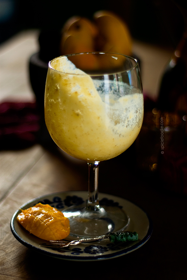Mango and Chia Seed Lassi   #smoothie #lassidrink #chiaseeds #Indiandrinks