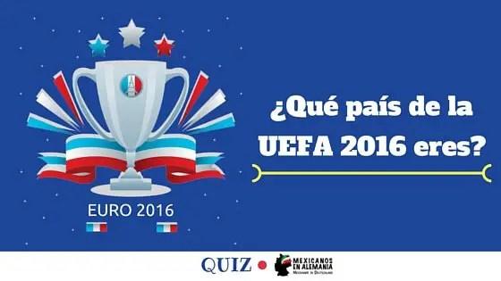 que pais de la UEFA 2016 eres