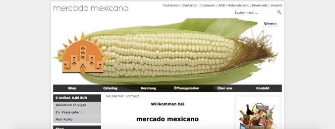 tiendas de productos mexicanos - mercado mexicano