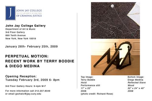 Medina - Boddie  exhibition