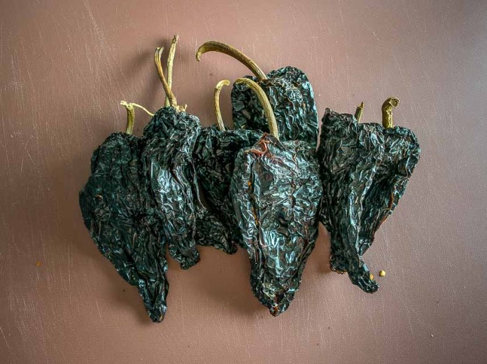 Ancho chiles for Mexican Shredded Beef