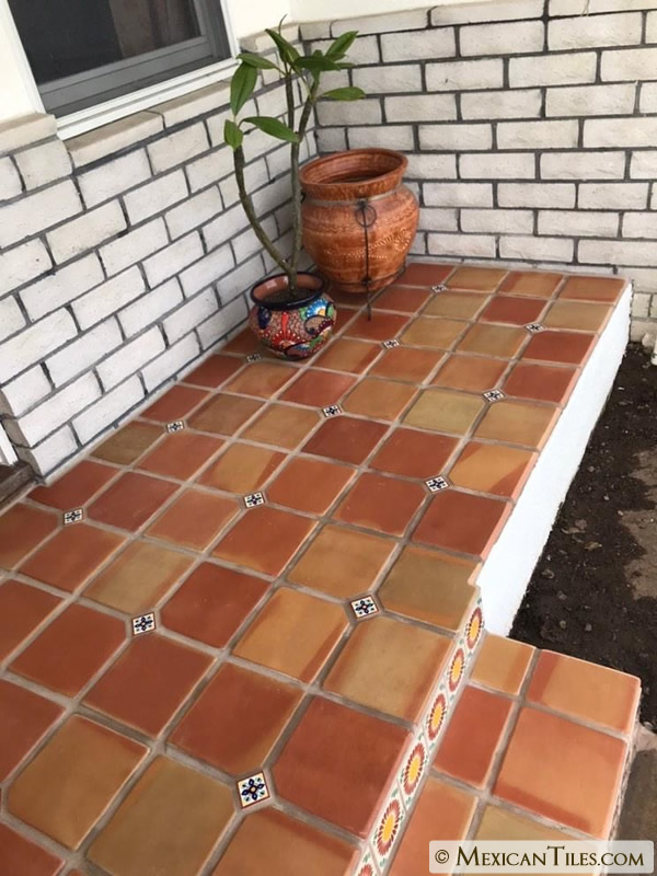 mexican tile 11 x 11 sealed super