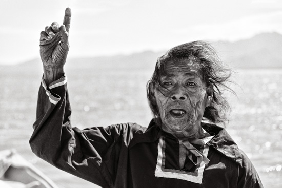 David Paniagua / Chapito, the medicine man from Punta Chueca, is a child and an old man at the same time.