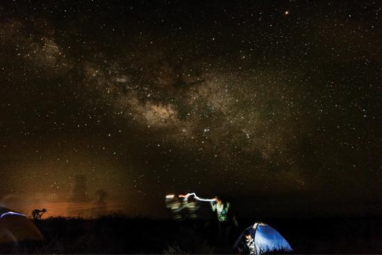 David Paniagua / The Shark Island and its starry mantle.