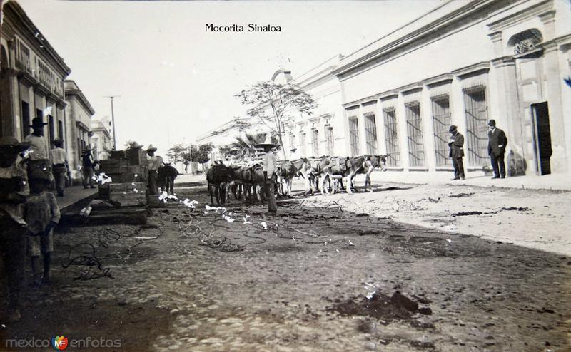 Escena callejera 1910