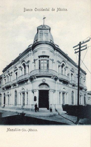 Image result for imágenes del banco occidental de méxico en mazatlán, sinaloa