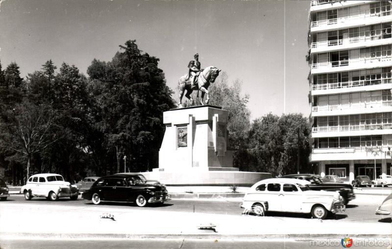 Simón Bolívar en México.