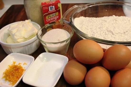 Receta de Rosca de Reyes, ingredientes