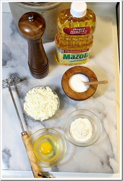 Receta de tortitas de papa con queso - 1