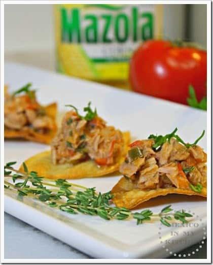 receta atún a la mexicana