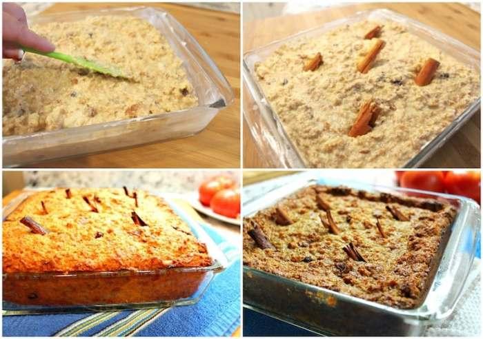 Budín de pan casero, disfruta con tu familia
