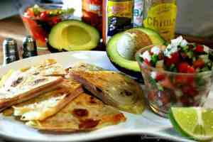 Receta Quesadillas o Sincronizadas