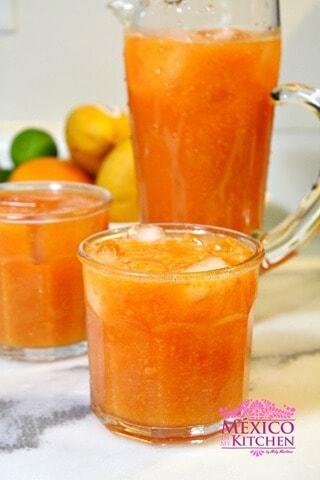 Agua de papaya
