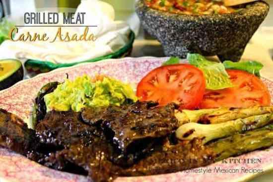 receta carne asada, deliciosa y fácil de preparar