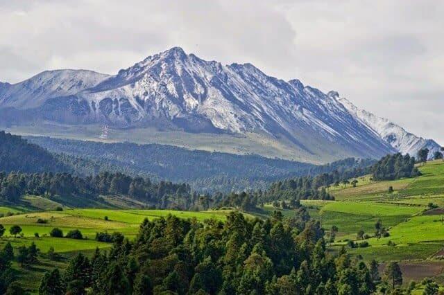 Volcán, El Nevado de Toluca, foto cortesía de Contrapapelnoticas.