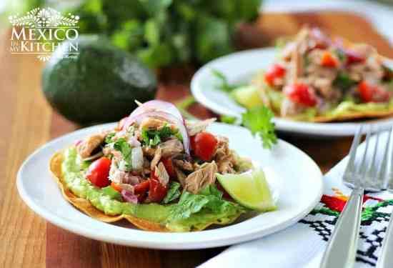 Tostadas de Ceviche de atún, disfruta de esta deliciosa receta