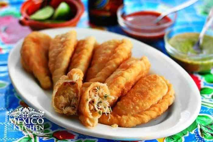 Empanadas de Jaiba o Cangrejo, deliciosa receta