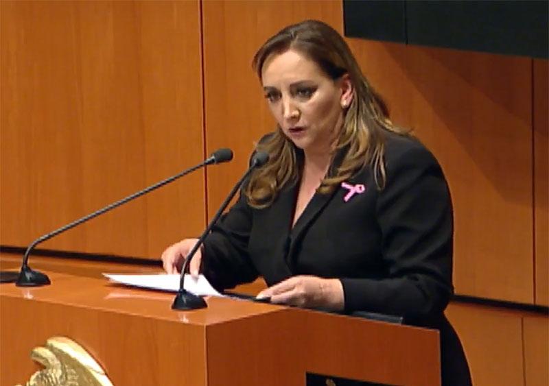 Piden priístas homenaje a María de los Angeles en Xico
